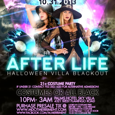 """After Life"" Halloween Blackout"